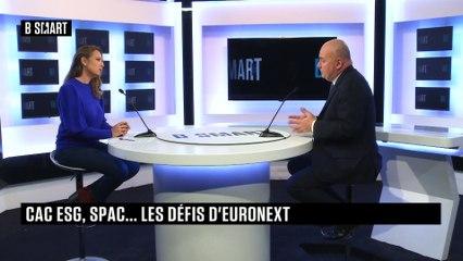 BE SMART - L'interview de Stéphane Boujnah (Euronext) par Aurélie Planeix