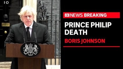 UK Prime Minister Boris Johnson says Prince Philip 'earned the affection of generations'