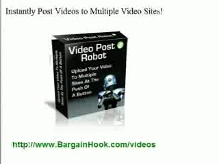 Video Posting to Multiple Sites Made Easy