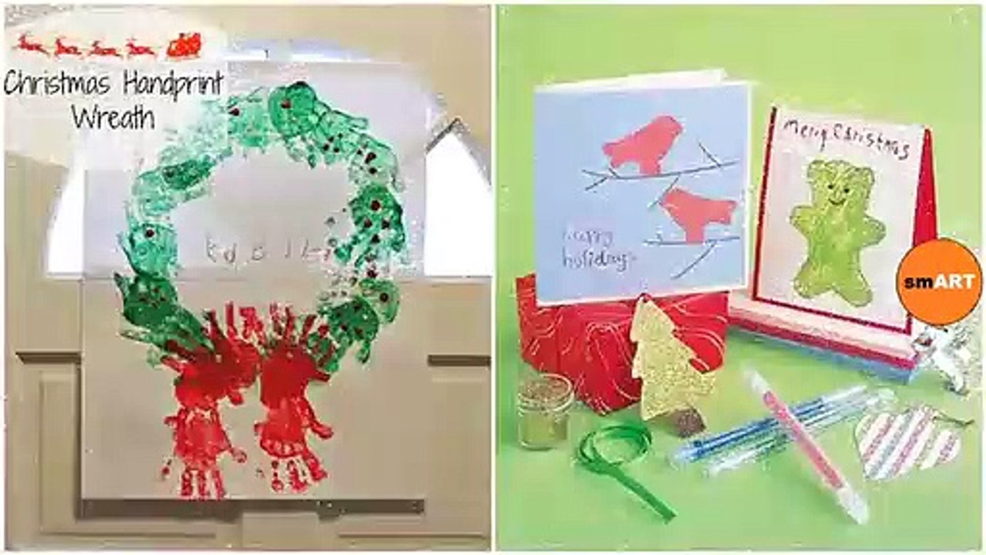 Kids Christmas Craft Ideas - Easy Christmas Crafts And Activities For Kids
