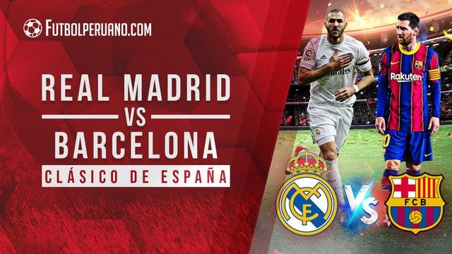 Real Madrid vs Barcelona: día, hora y canal del Superclásico de España | LaLiga