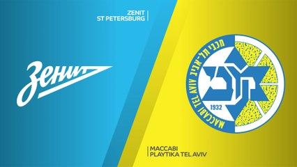 EuroLeague 2020-21 Highlights Regular Season Round 34 video: Zenit 86-69 Maccabi
