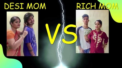 Desi Mom Vs Rich Mom   Lock Down Series   Comedy   Ep 2   Good Times Pictures