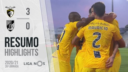 Highlights: Portimonense 3-0 Vitória SC (Liga 20/21 #26)