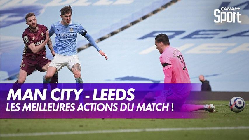 Les meilleures actions de Manchester City - Leeds