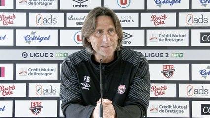 EA Guingamp - Toulouse FC   J32 - Ligue 2 BKT   Le point presse de Fred Bompard