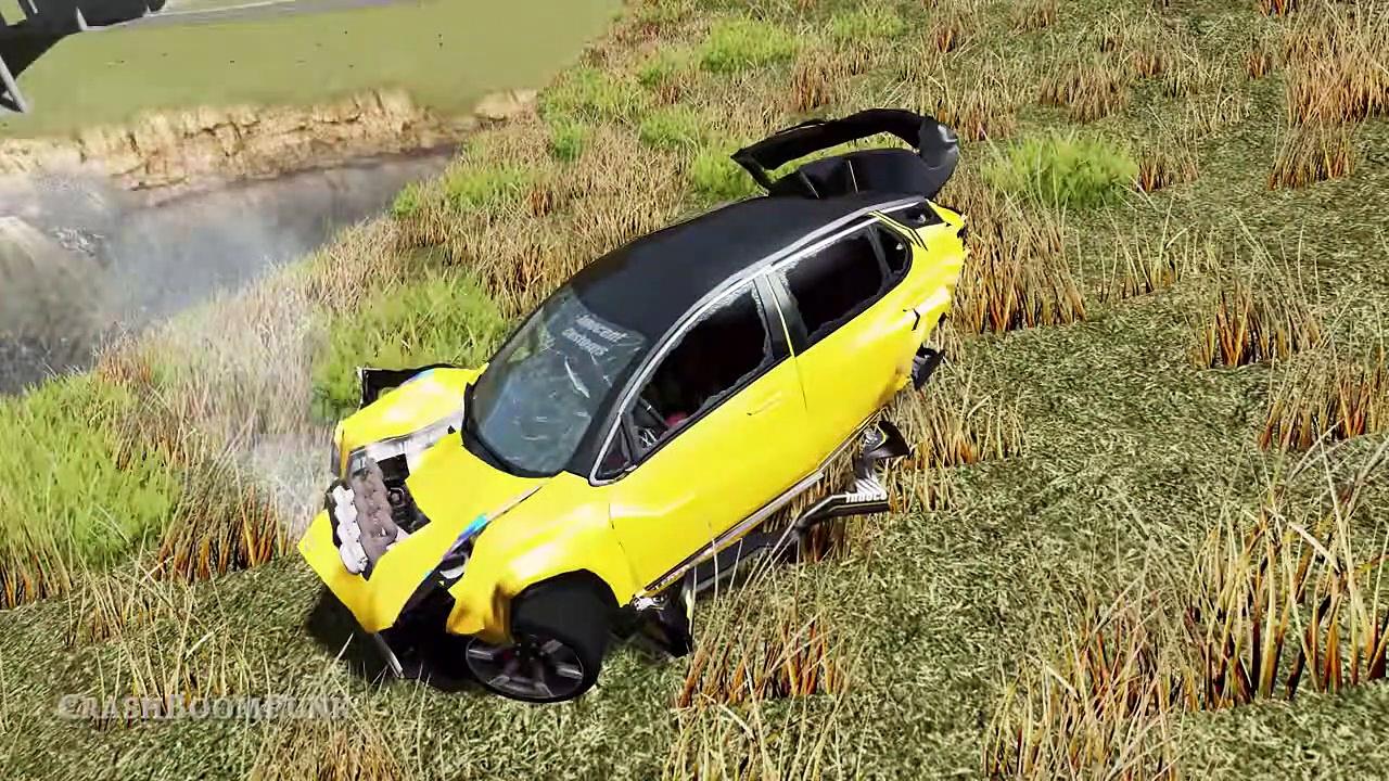 High Speed Traffic Crashes #80 – Beamng Drive | Crashboompunk