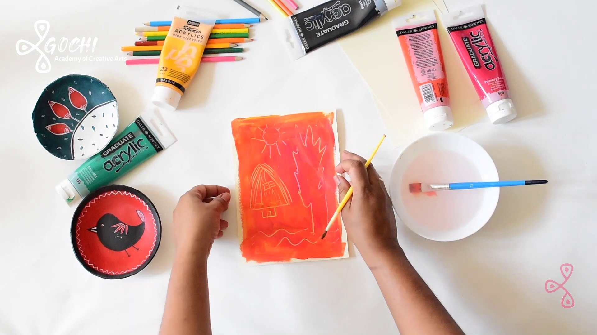 Easy Creative Activity for Kids - Line Drawing