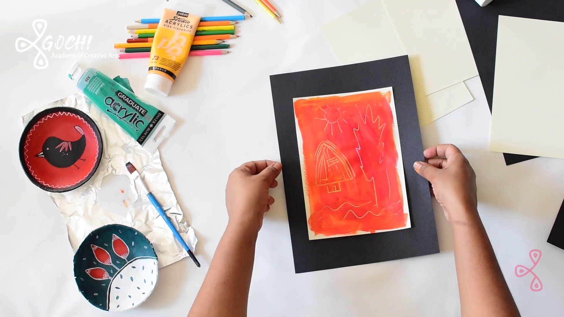 Easy Creative Activity for Kids - Simple Framing