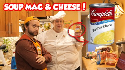 BoxMac 160: Campbell's Condensed Cheddar Soup Mac