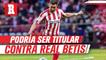 Héctor Herrera podría ser titular después de cuatro meses en partido vs Betis