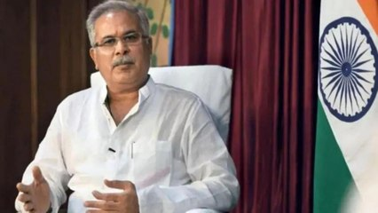 CM Baghel talked about corona and lockdown in his area!