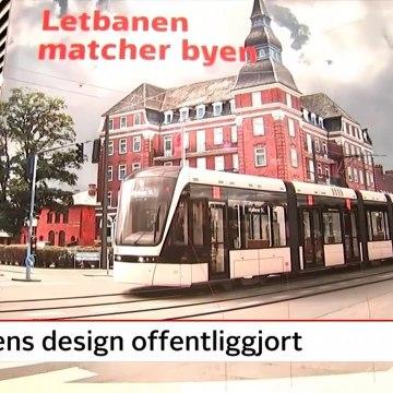 Sådan skal letbanen se ud - Letbanens design offentliggjort | Odense | 11 April 2018 | TV2 FYN - TV2 Danmark