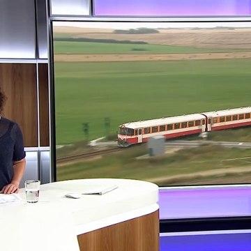 Ingen VLTJ-aflysninger trods storm | Lemvigbanen | Midtjyske Jernbaner | Martha Vrist | Lemvig | 10 August 2018 | TV MIDTVEST - TV2 Danmark