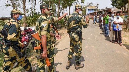 Heavy security forces deployed after violence in Cooch Behar