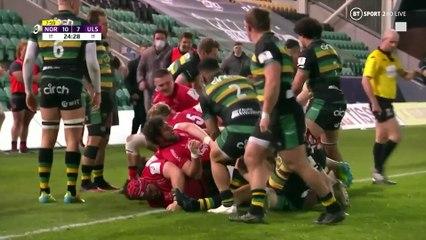 Northampton Saints v Ulster Rugby: quarter-final highlights