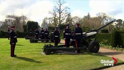 Prince Philip death Gun salutes fired across UK honouring Duke of Edinburgh