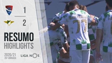 Highlights: Gil Vicente 1-2 Moreirense (Liga 20/21 #26)