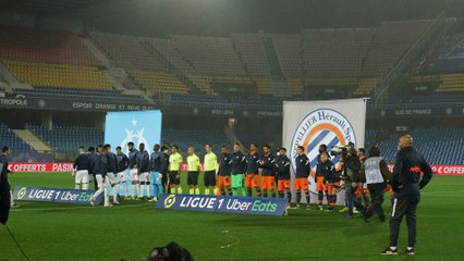 Montpellier - OM (3-3) : Le match
