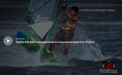 Gollito Estredo cuenta parte de su trayectoria deportiva. Parte 2