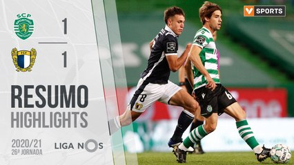 Highlights: Sporting 1-1 Famalicão (Liga 20/21 #26)