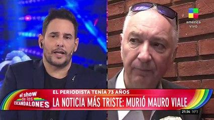 Así informaron en América la muerte de Mauro Viale