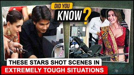 Kangana To Deepika | Celebs Who Shot Scenes In TOUGHEST Climate & Situation |Shahid -Kareena, Salman
