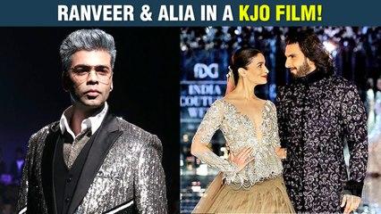CONFIRMED | Alia Bhatt and Ranveer Singh Re- Unite For A Love Story by Karan Johar!