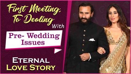 Saif Ali Khan & Kareena Kapoor's Passionate Love Story | Akshay Kumar's Role, Love Jihad, Age Gap