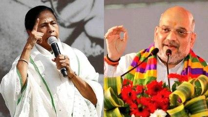 Bengal Violence:Mamata Banerjee-Amit Shah playing blame game
