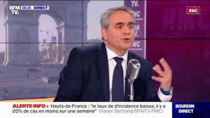 """Xavier Bertrand sur les restaurants clandestins: """"La règle est la même pour tous"""""""