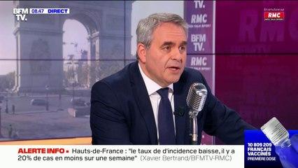 """Présidentielle 2022: pour Xavier Bertrand, """"le duel Macron-Le Pen au deuxième tour n'aura pas lieu"""""""
