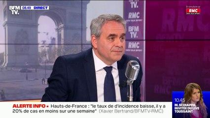 Présidentielle 2022: Xavier Bertrand maintiendra sa candidature même si il y a un(e) autre candidat(e) à droite