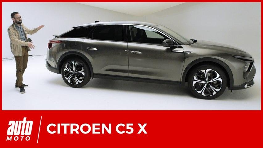 Citroën C5 X : le pari des Chevrons pour revenir sur le segment des berlines