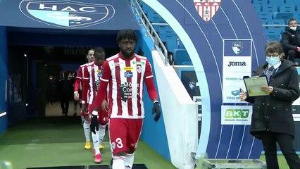 HAC - AC Ajaccio (1-1) : le résumé du match