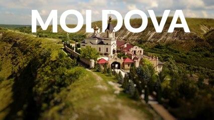 Mellow Moldova in 4k   Little Big World   Time lapse & Tilt shift & Aerial Travel Video