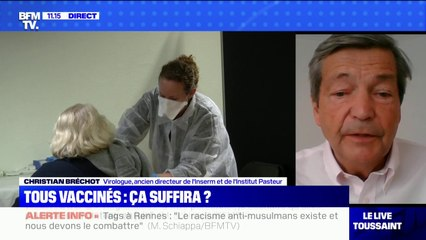 Le Pr Christian Bréchot recommande aux Français de ne pas hésiter à se faire vacciner avec AstraZeneca