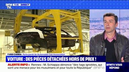 Pourquoi les pièces détachées des voitures coûtent aussi chères ?  BFMTV répond à vos questions
