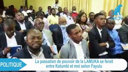 JDK : FAYULU s'exprime sur la passation de pouvoir de la LAMUKA