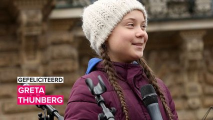 Gefeliciteerd Greta! We kunnen nog heel wat leren van de activist