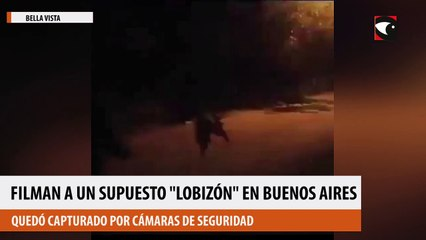 Filman a un supuesto lobizón en Buenos Aires