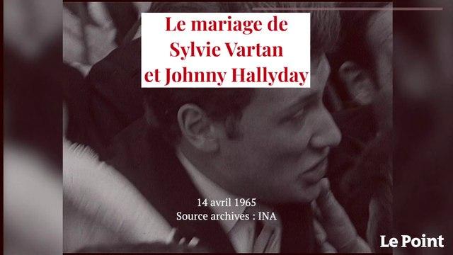 Avril 1965 : le mariage de Sylvie Vartan et Johnny Hallyday