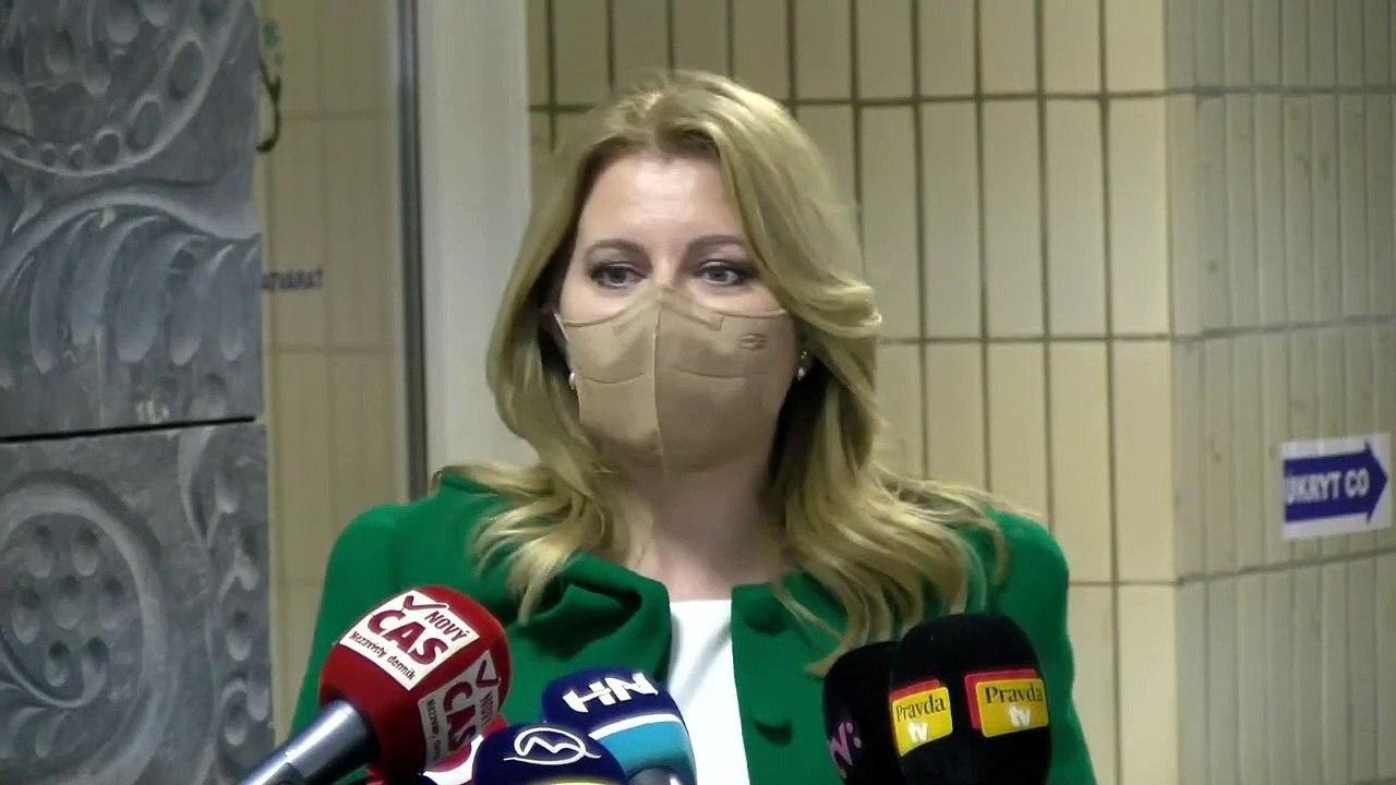 ZÁZNAM: Vyjadrenie prezidentky SR Z. Čaputovej po návšteve Biomedicínskeho centra SAV