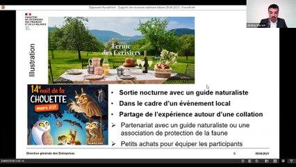 Fonds Tourisme Durable - Webinaire de présentation - Appel à projets Slow Tourisme