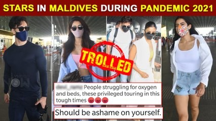 Ranbir- Alia, Tiger- Disha, Sara SLAMMED For Maldives Holiday | Bikini Photo Viral