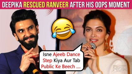 Deepika Shares Hilarious OOPS Moment Of Ranveer Singh, Reveals How She Saved Him In Public