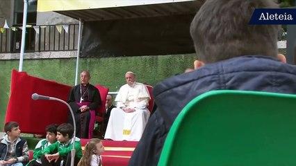 Ecco cosa ha detto il Papa al piccolo Emanuele...
