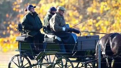 Prince Philip's low-key family funeral _ 9 News Australia