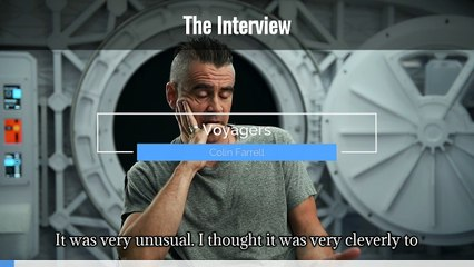Voyagers Colin Farrell interview  (Captioned)