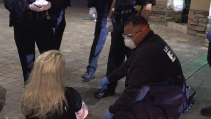 Live Rescue: Unconscious After Crashing Into Building